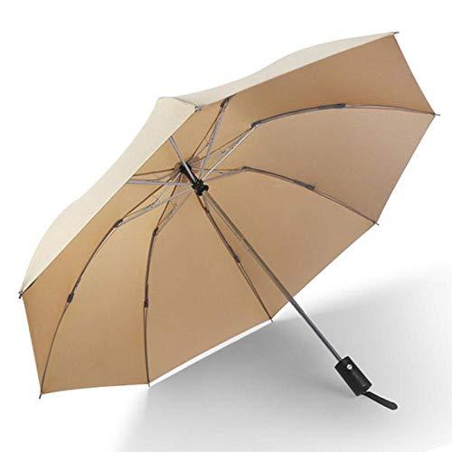 Parasol Parapluie Mise À Niveau Inverse Entièrement Automatique 3 Parapluie Pliant Pluie Femmes Haute Qualité Fort Coupe-Vent Voiture Parapluie Hommes Parasol Kaki