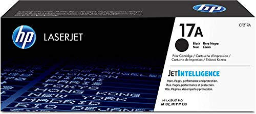 HP 17A CF217A pack de 1, toner d'origine, imprimantes HP LaserJet Pro, noir
