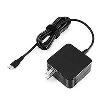 45W Type C Quick Charger for Asus Chromebook C302CA C302C C302 C101PA C101P C101 C213SA C213S C213 C523NA C523N C523 C214MA C214M C223NA C223N C423NA C204MA Flip Laptop Power Supply Adapter Cord