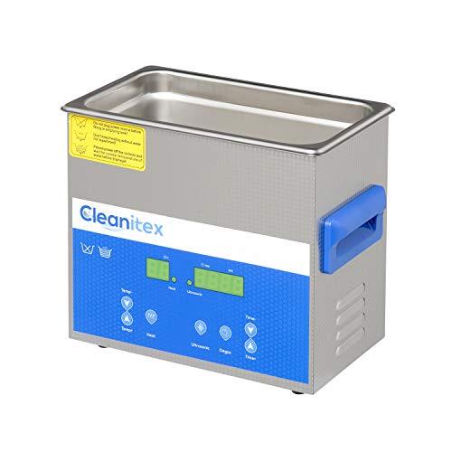 Cleanitex CXD3-3 - Pulitore a ultrasuoni per tutti (Ultrasuoni, pulitore a ultrasuoni, pulizia a ultrasuoni, ultrasuoni)