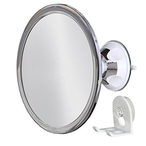 Upper West Collection No Fog Shower Mirror with Rotating,...