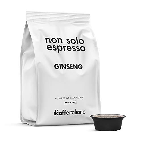 80 Capsules Ginseng - Compatibel met Lavazza koffiemachines A Modo Mio - Il Caffè Italiano