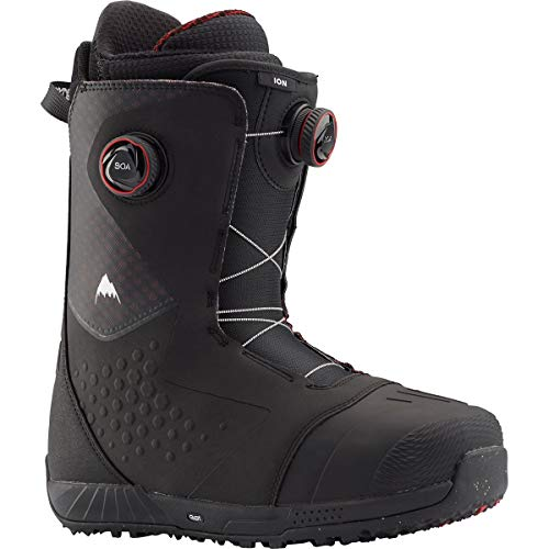 Burton Ion BOA Snowboard Boots Mens Sz 11 Black/Red