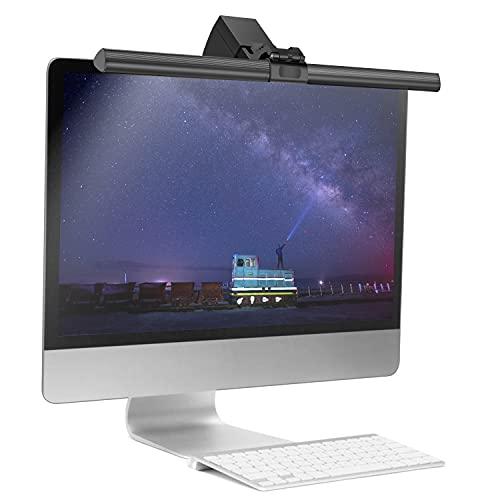 Computer Monitor Lampe, 40 cm LED USB Bildschirm Monitor Lichtleiste, Blendschutz E-Leselampe mit Einstellbarer Helligkeit und Farbtemperatur für die Augenpflege, Home Office Desktop Lampe