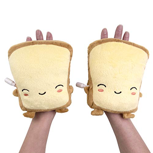 Smoko Toast Hand USB Heated Typing Gloves - Butta