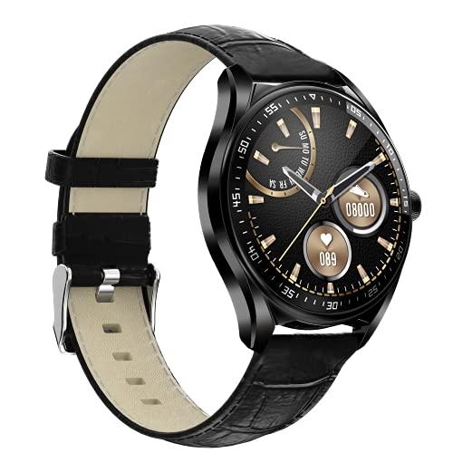 shjjyp Reloj Inteligente Hombre GPS Integrado Y Recibe Smartwatch con Llamadas PulsóMetro PresióN Arterial Monito De SueñO PodóMetro Impermeable Ip67 para Android iOS Y Xiaomi Huawei iPhone