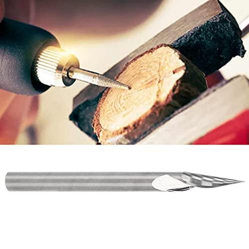 Broca de grabado, cuchillo de punta de taladro corta suavemente para amoladora para carpintería