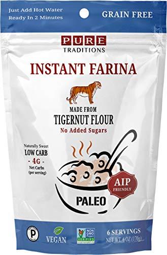 Instant Farina, AIP Friendly, Certified Paleo, Gluten & Grain Free (6 Ounce)