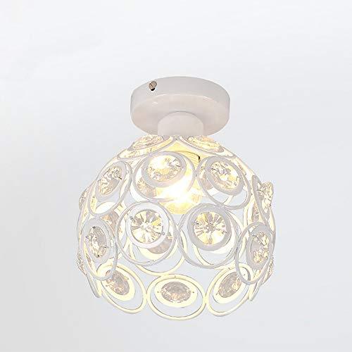 Moderna Lámpara de Techo Cristal LED Φ20cm Luz de Techo Colgante Retro...