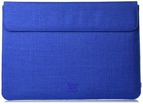 Herschel Spokane Sleeve for MacBook/iPad, Monaco blue crosshatch, 15-Inch