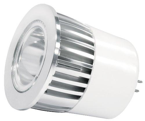 Transmedia LED-RGB Lampe 12V/3W, mit Fernbedienung, GU5.3, 60°, dimmbar, ø 50 x 55 mm, RGB, LP14RGBL