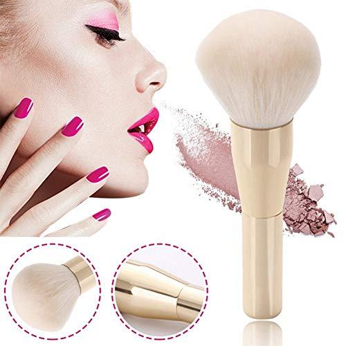 WUYANSE Make-up Pinsel, goldene weiße Nylonborste, lose Puderpinsel, Rougepinsel
