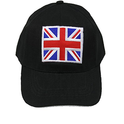 Silver Fever¬ Cappello da baseball unisex regolabile Camion Cap I am the Boss Bandiera britannica Taglia unica