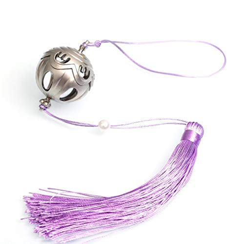 Mini Legend Game Yunmeng Jiangshi Small Bell Metal Arms Keychain Be Used for Party Supplies Backpack Pendant