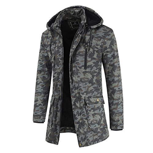 Brizz jack met capuchon, warm trainingspak met ritssluiting, casual camouflage, lange mouwen, outwear jas, softshelljas, waterafstotend, winddicht, volledige rits, functionele jas met fleece binnenvoering
