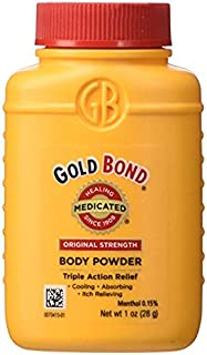 travel size body powder