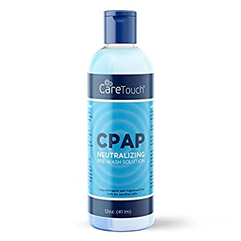 Care Touch CPAP Soap Cleaner for Your CPAP Supplies Neutralizing Pre-Wash Soap Fragrance and Dye Free 12 Ounce Bottle