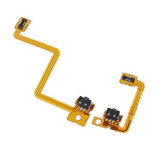 NIANNIAN Joystick 1Set Hochwertige Ersatzteile L R Tastenkabel LR Schalter Flachkabel LR Kabel Für 3DS
