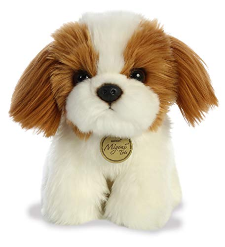 """Aurora - Miyoni - 11"""" Shih Tzu Pup, White"""