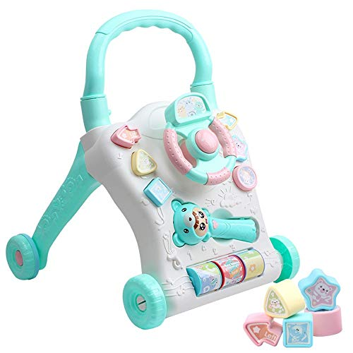 Buy Limaomao Baby Walker with Wheel 2 in 1 Walker Slider Improved Design Interactive Baby Walker Two...