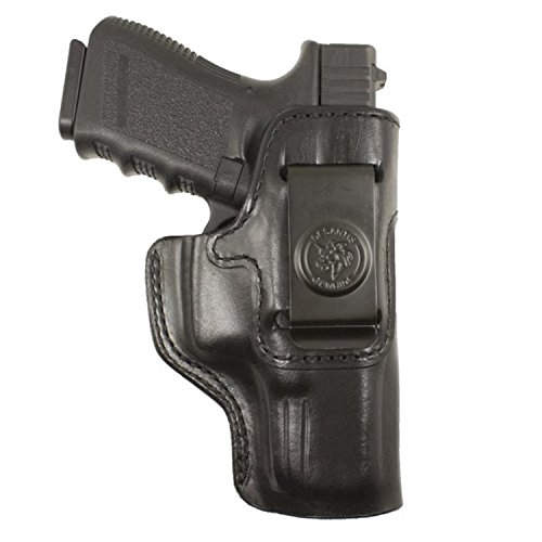 DeSantis 127BA8BZ0 Right Hand Glock 43 Inside Heat Holder, Black