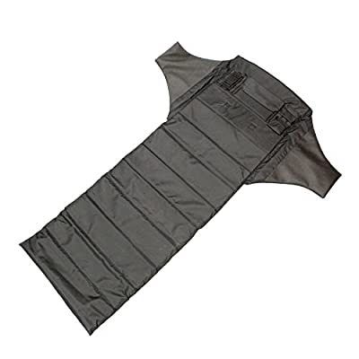Redneck Convent Black Shooters Mat Padded Roll Up Mat, 1/2in Pad - Hunting, Precision Shooting, Long Range Shooting Accessories