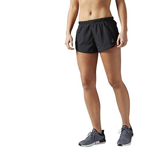 Reebok Re 2 In Short Pantalón Corto, Mujer, Negro, S