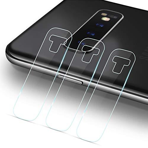 LZS Kamera Panzerglas Schutzfolie Kompatibel mit Samsung S10+,Kamera objektiv Gehärtetes Glas Displayschutzfolie für Samsung S10+ [3 Stück]