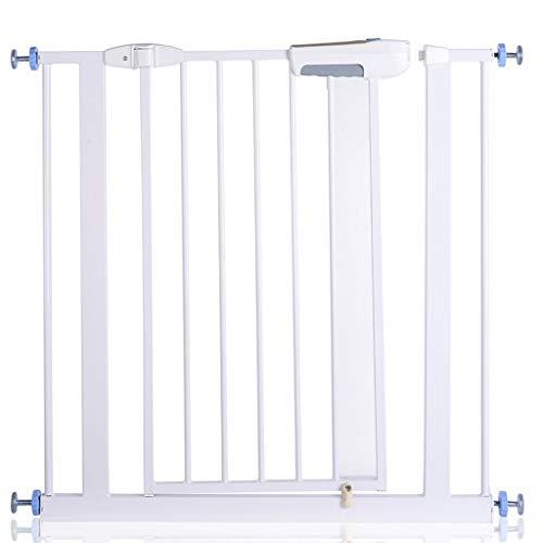 Pet inre säkerhet barriär med metalldörr, Pardörrar Justerbar Safety Gate
