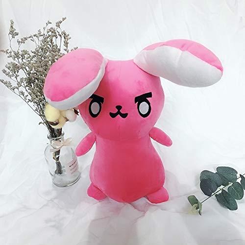 changshuo Stofftier 1pc 45cm Spiel Overwatches Pink Rabbit Plüschtier Kissen Weiche Kissen Sofa Kissen Spielzeug Für Kinder Cosplay Geschenke