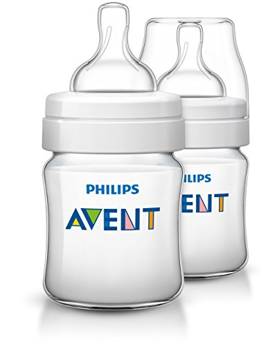 Philips Avent Klassik+ Flasche SCF560/27, 125ml, 2er Pack, transparent
