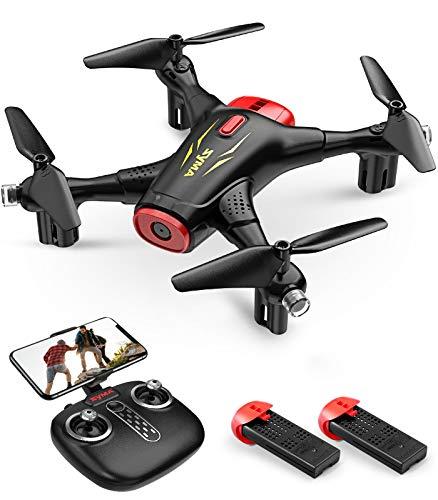 SYMA RC drohne mit Kamera 720P FPV WiFi X400 2.4GHz Fernbedienung 3D Flips Schwebefunktion Start-/ Landung per Knopf Indoor Quadrocopter Training Drohne Geschenk für Kinder Junge