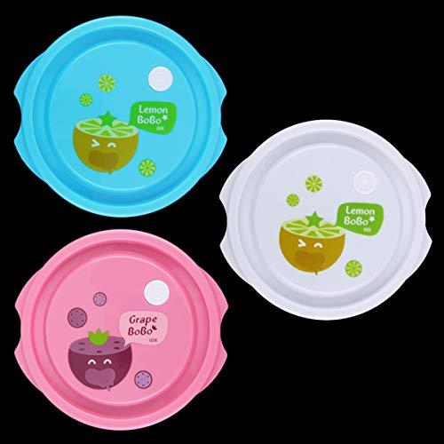 Greatangle Nuovo Sano 3 pezzi cucina cibo ermetico contenitore sicuro congelare Forno a microonde negozio in Tutto il Mondo Trasparente Grande