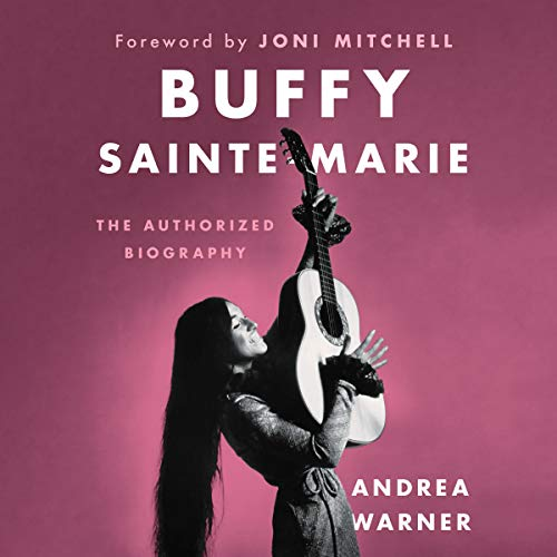 Buffy Sainte-Marie audiobook cover art