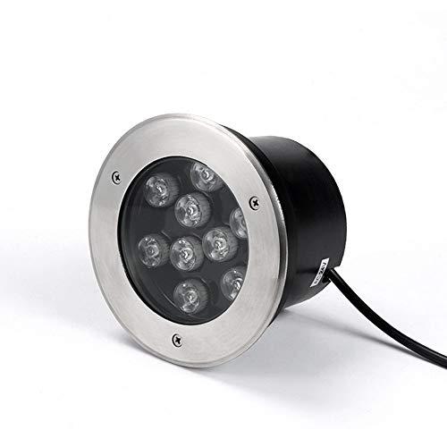 DLGGO LED de acero inoxidable Piscina Luz empotrada bajo el