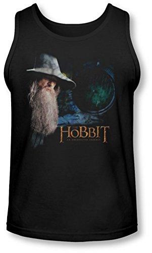 The Hobbit - - La porte Tank-Top pour hommes, Large, Black
