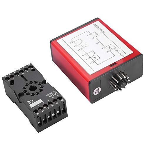 Vehículo Detector - Detector voltios Monitor de un solo canal inductivo vehículo Loop Power Detector de estacionamiento Control de Acceso Lote