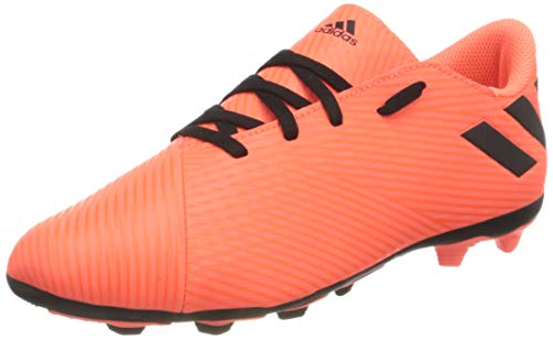 adidas Nemeziz 19.4 FxG J, Zapatillas de fútbol, CORSEN/NEGBÁS/Rojsol, 35 EU