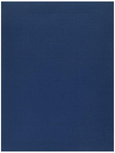 Oxford Esselte Pendaflex Corporation ESS04162 Premium Twin Pocket Portfolios- 9in.x11-.88in.- Blue-Gold