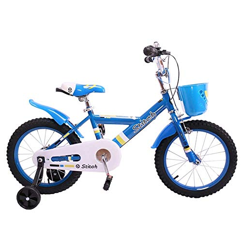 Find Bargain QiYue Kids Bike with Dual Disc Brake for Boy and Girl 12-14-16 Inch Training Wheels (Si...