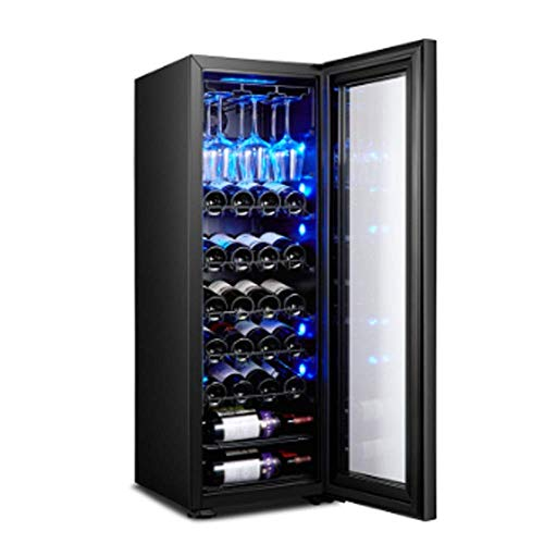 Low Vibration Low Noise ice bar Home Thermostat Wine Built-in Freestanding Wine Cooler Chiller Touch Control Air-Cooled moisturizer