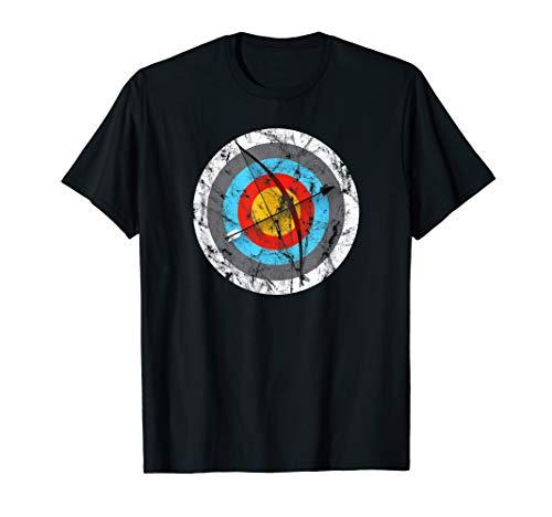 Bogenschießen Zielscheibe Bogenschützen Geschenk T-Shirt