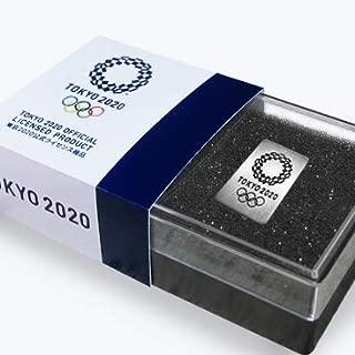 東京オリンピック 2020 ピンバッジ 四角黒EM古美ニッケル