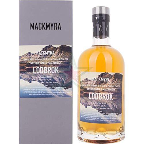 Mackmyra LODBROK Extra Rök Svensk Extra Peated Swedish Single Malt Whisky 50,40% 0,50 Liter