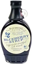 product image for Blueberry Syrup 3 Ingredients - Blackberry Patch 8 oz Bottle – Oprahs Favorite Things 2014, Small Batch & Handmade in Georgia, Perfect on Pancakes, Waffles & French Toast, Great Dessert Topping