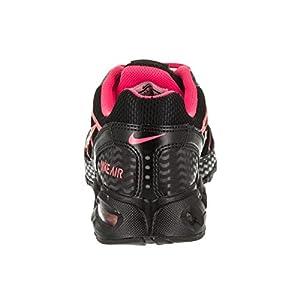 Nike Womens Air Max Torch 4 Running Shoes Black/Silver/Pink Flash 9
