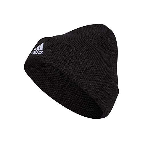 adidas Herren Mütze Team Issue Fold Beanie, Herren, Strickmütze, Team Issue Fold Beanie, schwarz/weiß, Einheitsgröße
