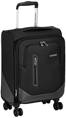 [アメリカンツーリスター] スーツケース カービー スピナー 54/20 エキスパンダブル TSA 機内持ち込み可 保証付 32L 54 cm 2.3kg ブラック