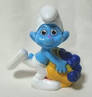 2011 US McDonald's Happy Meal toy movie ' Smurfs (THE SMURFS) ' ' greedy ' figure