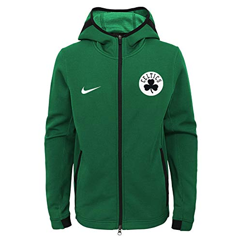 Nike NBA Big Boys Youth (8-20) Showtime Full Zip Hoodie, Boston Celtics Small 8